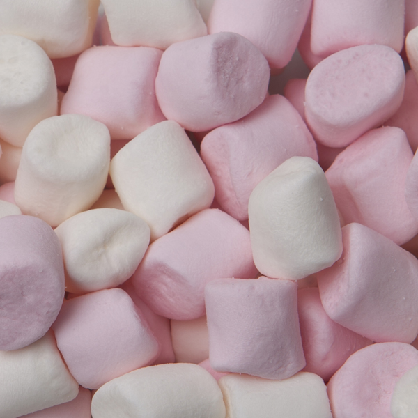 Mini Marshmallow Pink & White