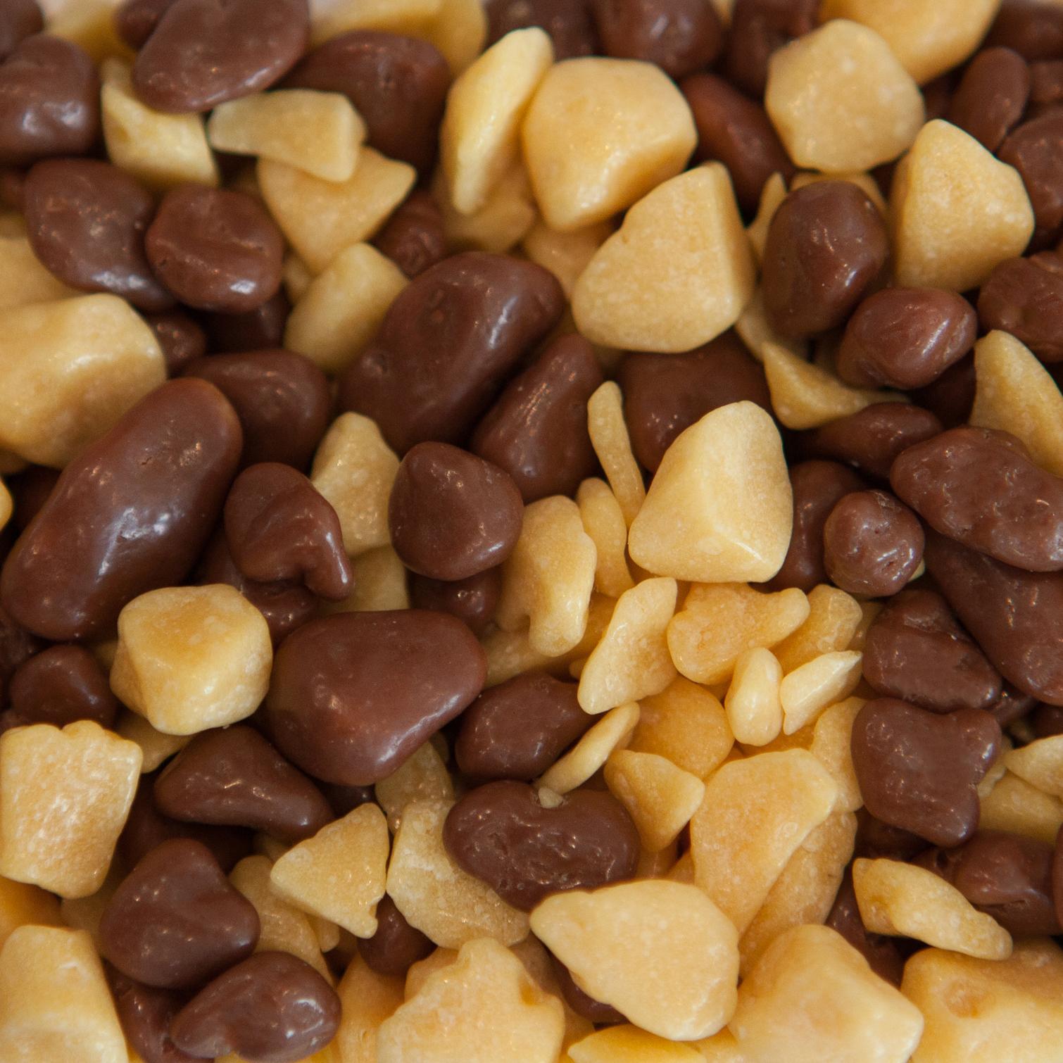 Honeycomb Mixed Fat Coated & Milk Chocolate